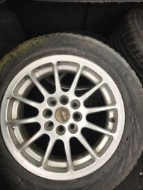 After market alloy wheels