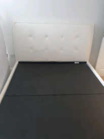 King Sized Bed frame with Storage