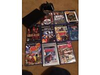 Slim Sony ps2 games bundle console