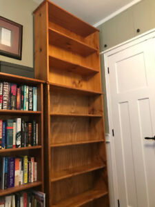 Solid Wood Bookcases - Puritan Pine