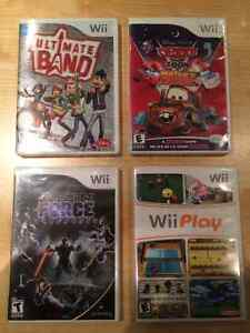 Wii Games - Pack of 4 Games