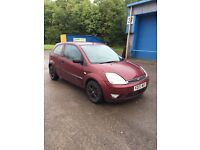 Ford Fiesta red 1.4 petrol 78,000 mileage, 5months mot