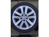 BMW 1 series alloys / runflat tyres