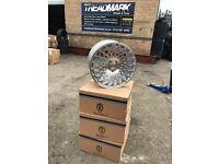 """18"""" 5x112 alloy alloys wheels rims tyres tyre Vw Volkswagen seat skoda Audi Mercedes"""