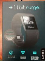 Fitbit surge neuf taille large