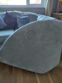 Corner of corner sofa