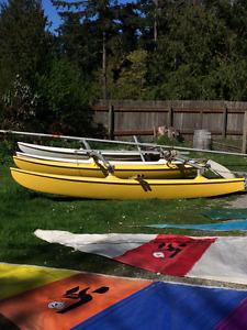 14 FT Hobie Cat Catamaran for Sale