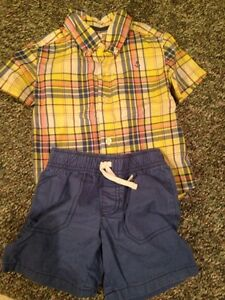 Brand name baby boy clothes 0-2 years