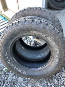 2x pneus hiver 265/70R18 116s General Grabber AT2