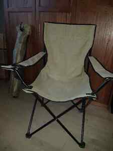 2 camp style chairs