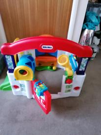 Activity playhouse, little tikes