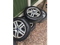 Ford focus c max alloy wheels and tyres 16inch