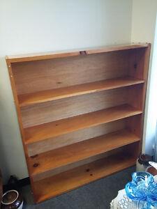 Large Pine Bookcase / Bookshelf