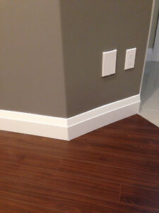Baseboards and trims installations and Caulking and painting, Al Edmonton Edmonton Area image 5