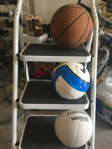 Basket, Soccer and Volleyball