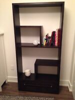 Brand New Black Bookshelf