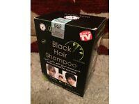 Black hair shampoo Dye in 5min
