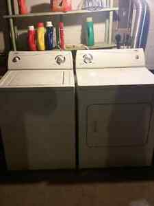 Inglis washer and dryer.