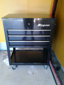 Snap-on roll cart ice cooler.