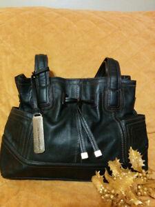 Leather Designer Purse EUC