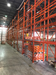 PALLET RACKING INDUSTRIAL - NEW&USED - DESIGN - PSR'S  -INSTALL