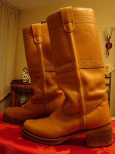 Mens High Back Riding Boots