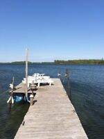 Cottage in 1000 islands! Dock and beach. 20 min to downtown