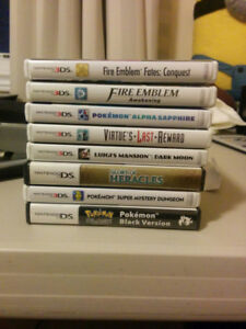DS AND 3DS Games (Fire Emblem)