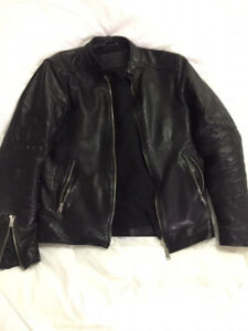 Allsaints men leather jacket