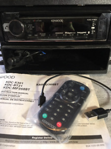 Kenwood KDC-X301 Car Stereo