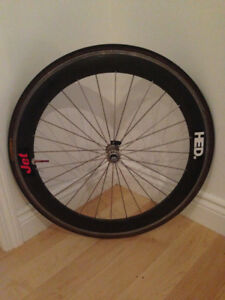 HED jet bicycle front wheel