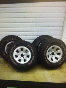 Wanted : Four nice tires and rims for Ford Ranger.