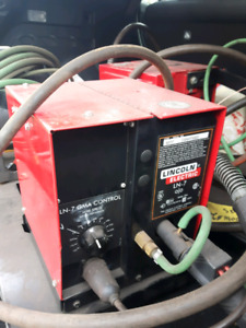 2-Lincoln Electric LN-7 Wire Feeder For Welder