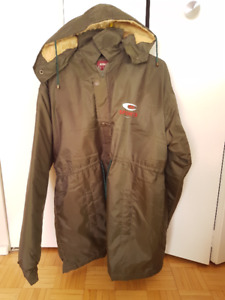 Men's Fall Jacket- Military green color