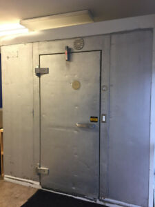 8 by 12 ft Walk-in Freezer