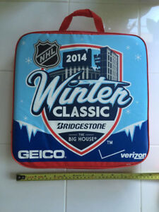 2014 NHL Winter Classic The Big House Seat Cushion - Leafs Wings