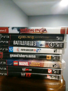 Sony Playstation 3 ps3 games
