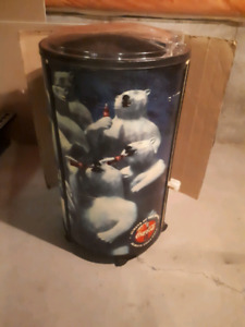 Collectors Coca Cola Cooler Barrel