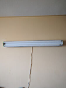 Double frame tubelight with 2 philips working sticks (2 sets)