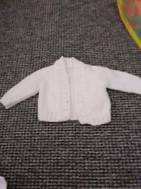 0-3 months cardigan