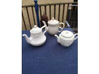 Stone ware teapots