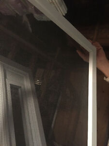 Brand new sliding screen door w rollers