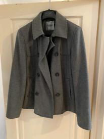 Topman winter grey jacket size L