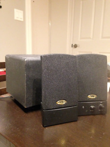 Computer speakers with subwoofer