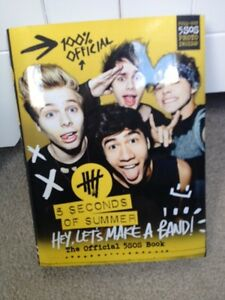 """5 Seconds of Summer (5SOS) Book, """"Hey, Let's Make a Band!"""" Peterborough Peterborough Area image 1"""