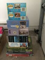 Lots of Puzzles for sale