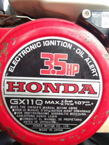 Honda GX110 3.5hp Engine