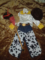 Jessie Costume & Galapping Horse 5-6