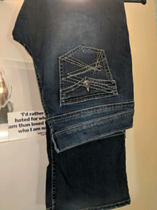 Ladies Rickis jeans bootleg cut PLUS SIZE
