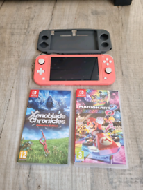Nintendo switch lite 2 games